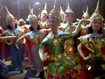 Bangkok Travelbug July 09 Thai silk weavers of Ban Krua