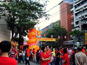 Chinatown Chinese New Year Celebrations 2012 – Welcome Year of the