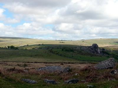 A View of Vixen Tor, Dartmoor, UK