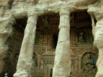 Another one of the Yungang Grottoes