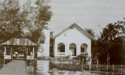 Belfry added in 1912