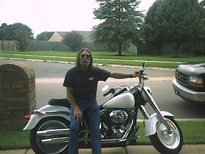 Me and my new Harley