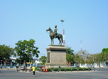 King Rama V Equestrian Monument – a tribute to the great king