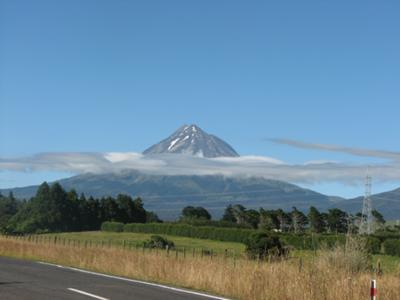 The Last Samurai : Mount Egmont in summer