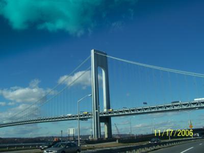 Verrazano Narrows Bridge, N.Y.