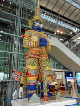 Suvarnabhumi Airport Bangkok Resurrecting The Golden Land