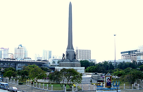 The Victory Monument – dedicated to the fallen in a long ...