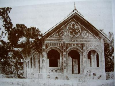 Church rebuilt in 1910