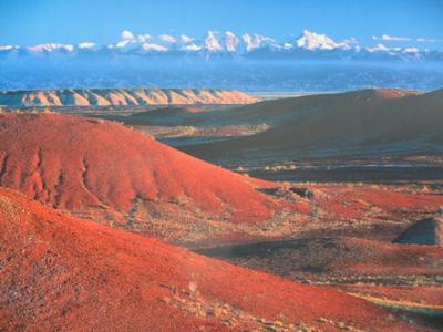 Burnt Mountain, Xinjiang
